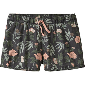 Patagonia Island Hemp Baggies Shorts Dames, fiber flora multi big/ink black